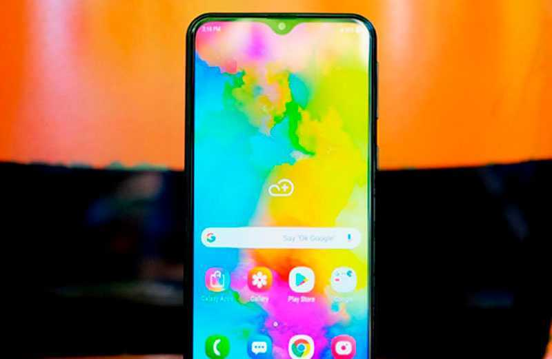 Samsung Galaxy M21 дисплей