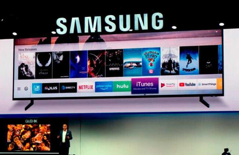 Когда появилась Samsung Smart TV?