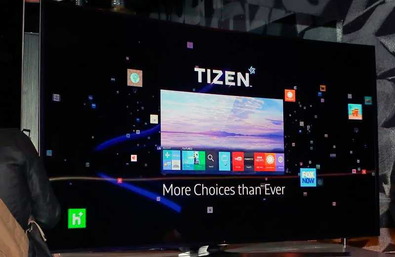 Samsung Smart TV с Tizen System