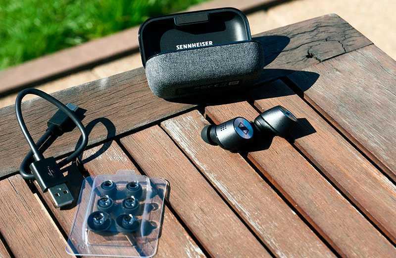 Sennheiser Momentum True Wireless 2 из коробки