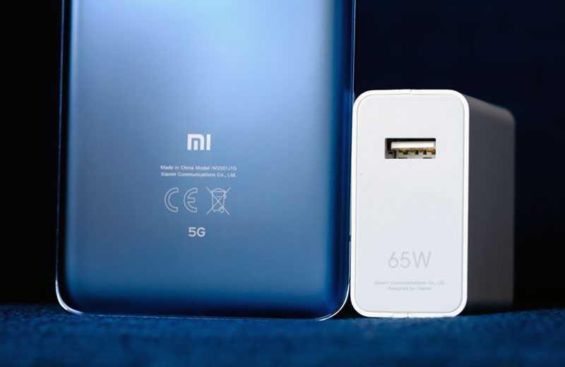 Xiaomi Mi 10 Pro 5G зарядка и батарея