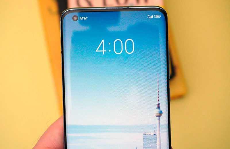 Xiaomi Mi 10 Pro 5G дисплей