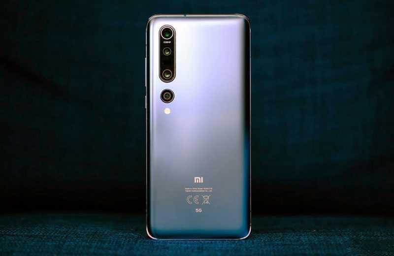 Xiaomi Mi 10 Pro 5G сзади