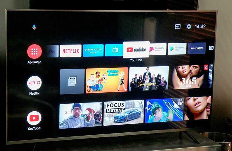 Xiaomi Mi TV 4S 55 интерфейс