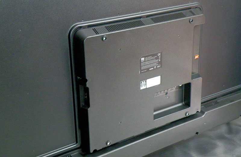 Xiaomi Mi TV 4S 55 сзади