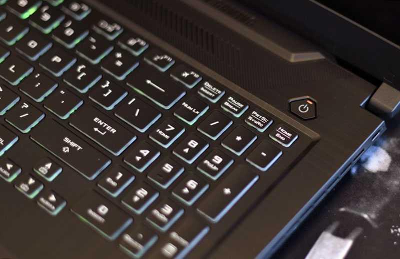 Клавиатура ASUS TUF Gaming A17
