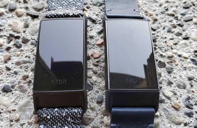Сравнение Fitbit Charge 4