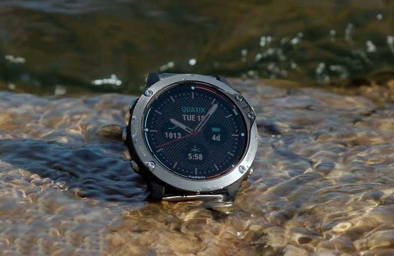 Часы Garmin Quatix 6