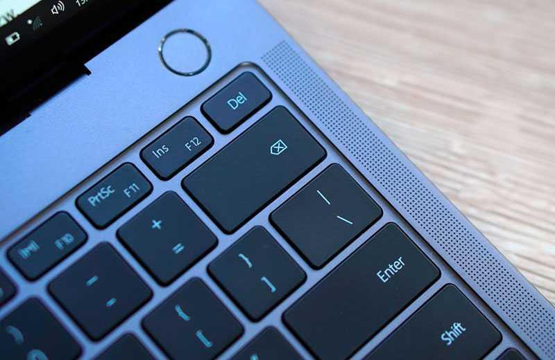 MateBook X Pro 2020 сканер отпечатков пальцев