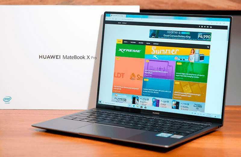 MateBook X Pro 2020 звук