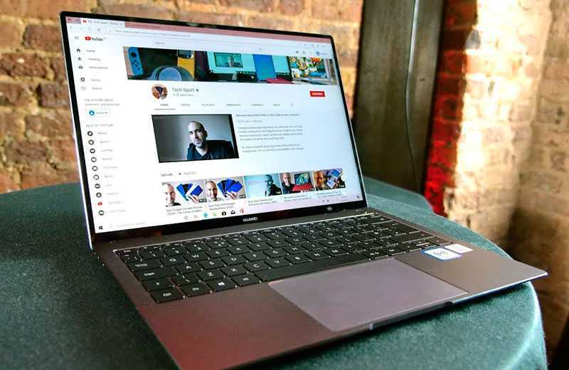 MateBook X Pro 2020 дисплей