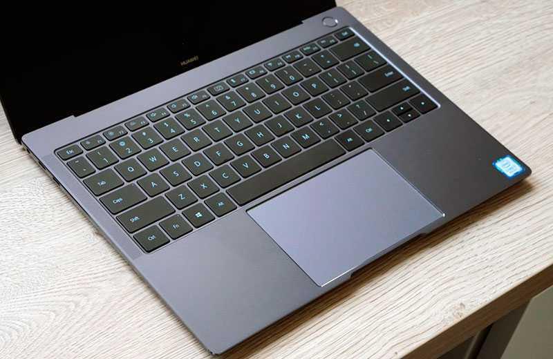 MateBook X Pro 2020 лавиатура и тачпад