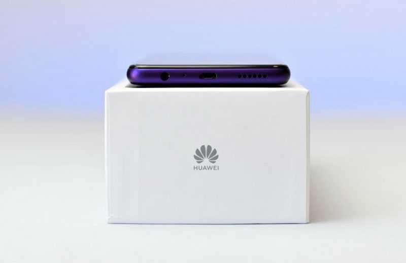 Huawei Y6p (2020) разъёмы
