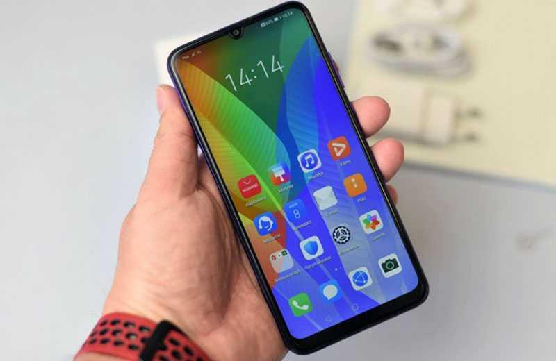 Huawei Y6p (2020) экран