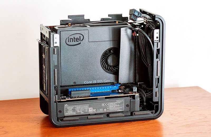 Intel NUC 9 Extreme Kit (Ghost Canyon) шумный
