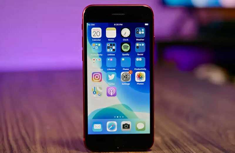 iPhone SE 2 экран