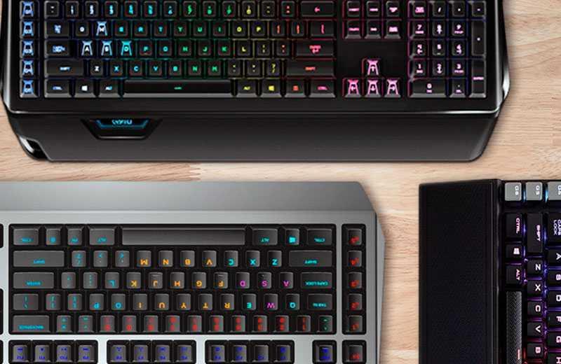Типы и виды клавиатур