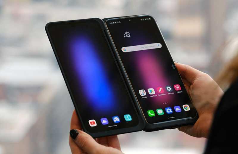 LG V60 ThinQ два дисплея