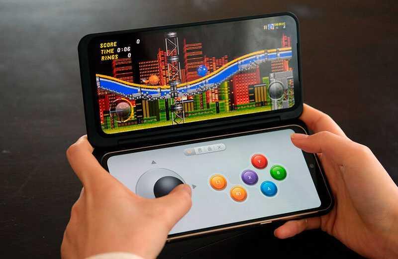LG V60 ThinQ игровой режим
