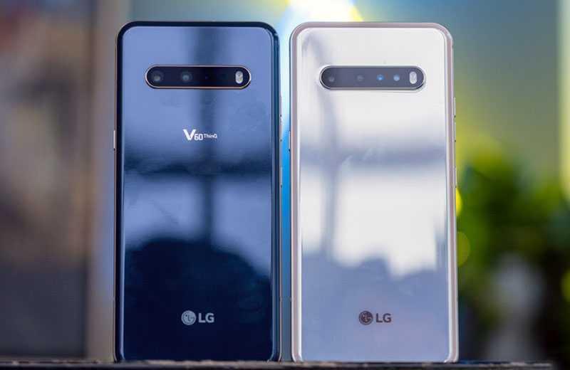 LG V60 ThinQ внешний вид
