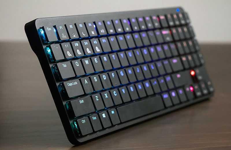 Будущее низкопрофильных клавиатур