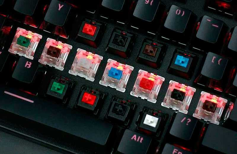 Свитчи механических клавиатур