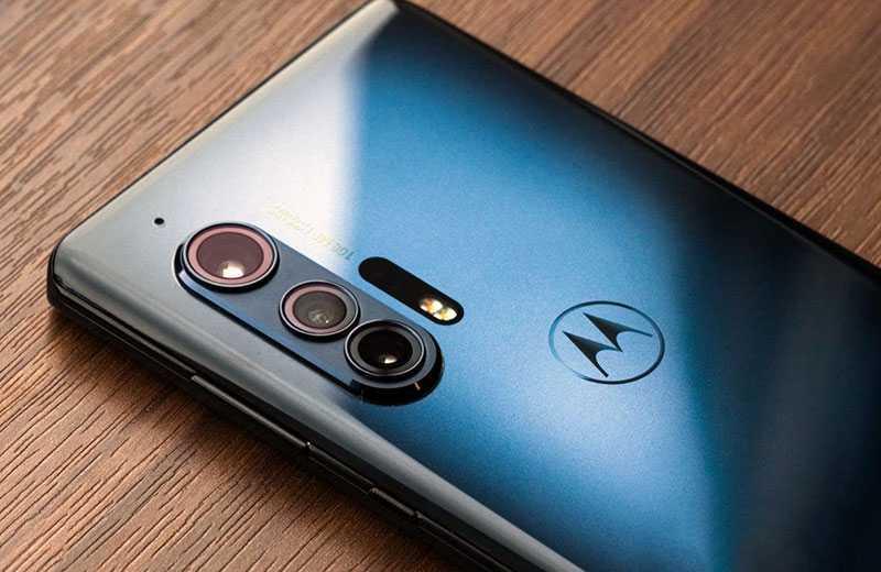 Motorola Edge Plus камера