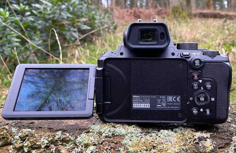 Экран Nikon P950