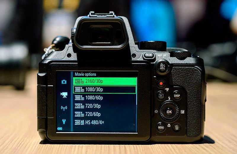 Nikon P950 съёмка видео