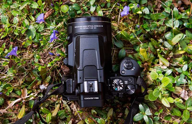 Nikon P950 дизайн