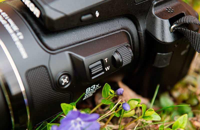 Nikon P950 кнопки