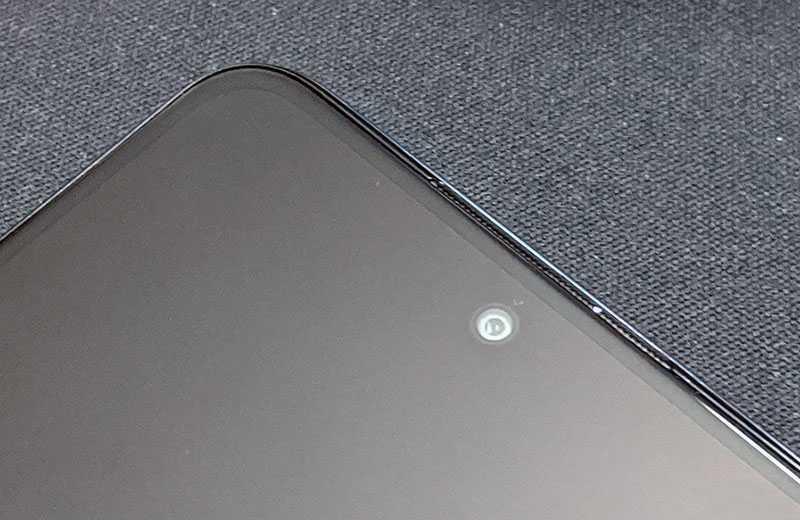 Redmi Note 9 Pro передняя камера