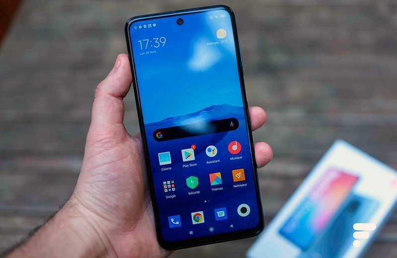 Xiaomi Redmi Note 9S ПО