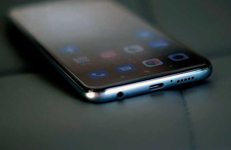 Xiaomi Redmi Note 9S разъёиы