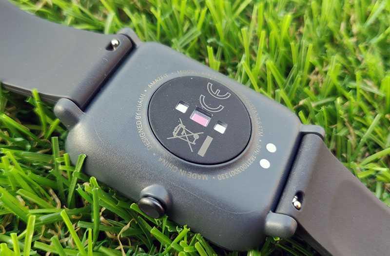 Amazfit Bip S датчики