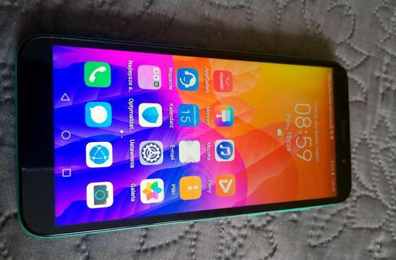 Huawei Y5p интерфейс
