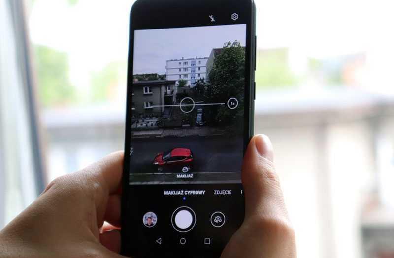 Huawei Y5p съёмка