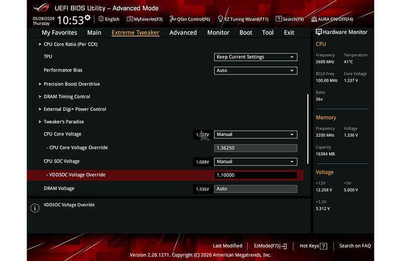 Как разгонять процессоры AMD Ryzen с материнки
