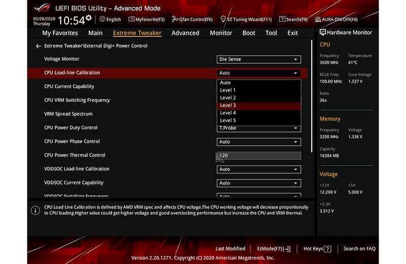 разгон процессора AMD Ryzen с материнской платы UEFI
