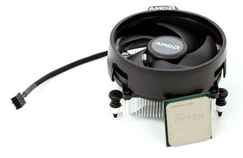 AMD Ryzen 5 3600 продаётся с небольшим кулером Wraith Stealth, который не способен поддерживать приемлемые температуры после оверклокинга. Если вы собираетесь разгонять процессор, то следует запастись более эффективным охлаждением