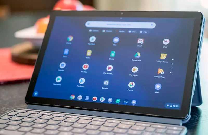 Lenovo Chromebook Duet дисплей