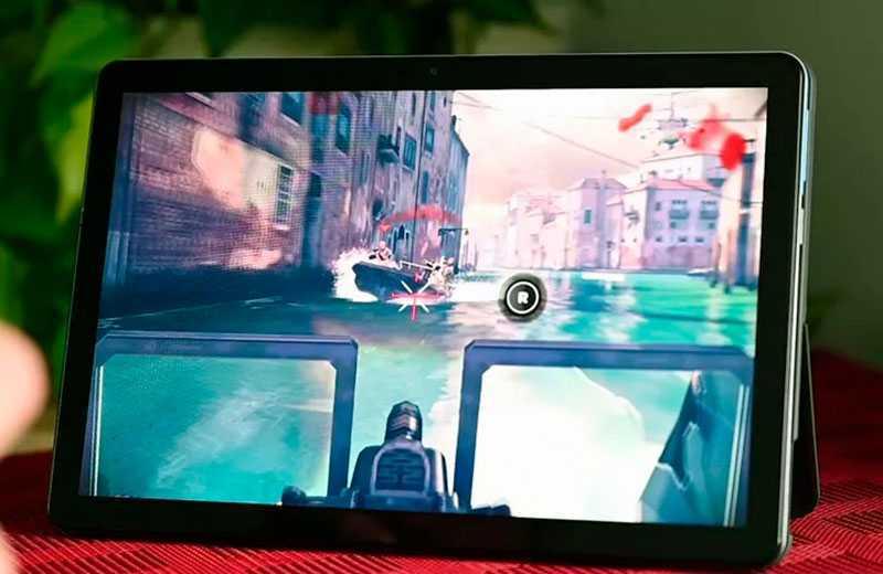 Lenovo Chromebook Duet в играх