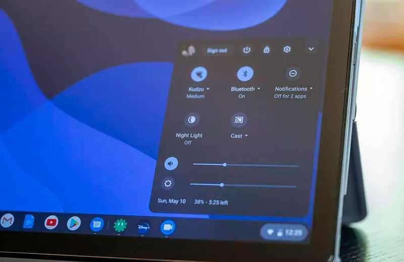 Lenovo Chromebook Duet связь