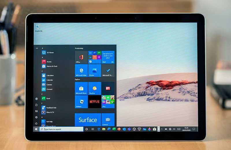 Обзор Microsoft Surface Go 2