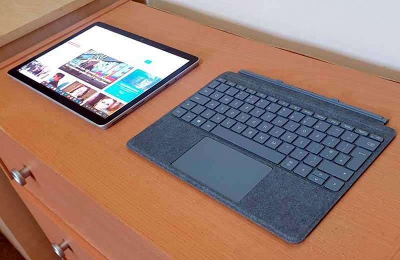 Microsoft Surface Go 2 клавиатура