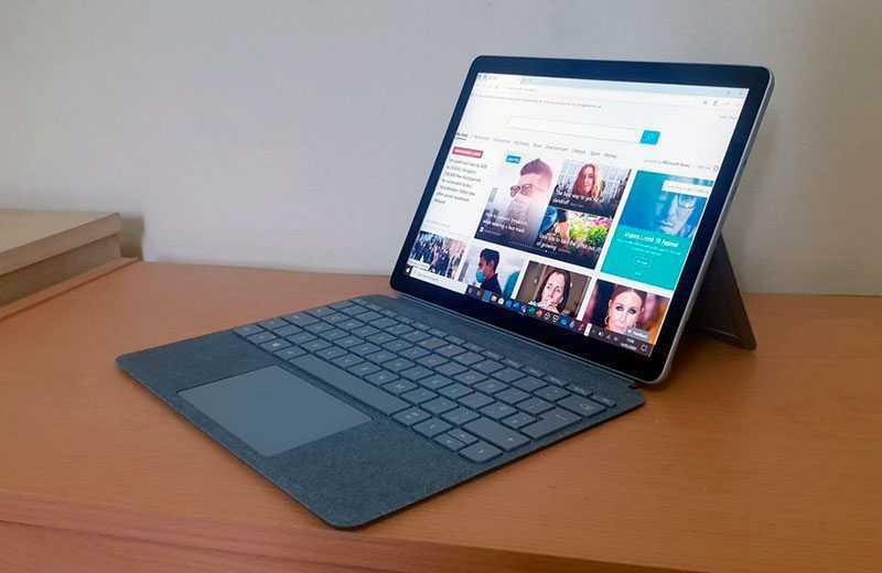 Тест Microsoft, Surface Go 2