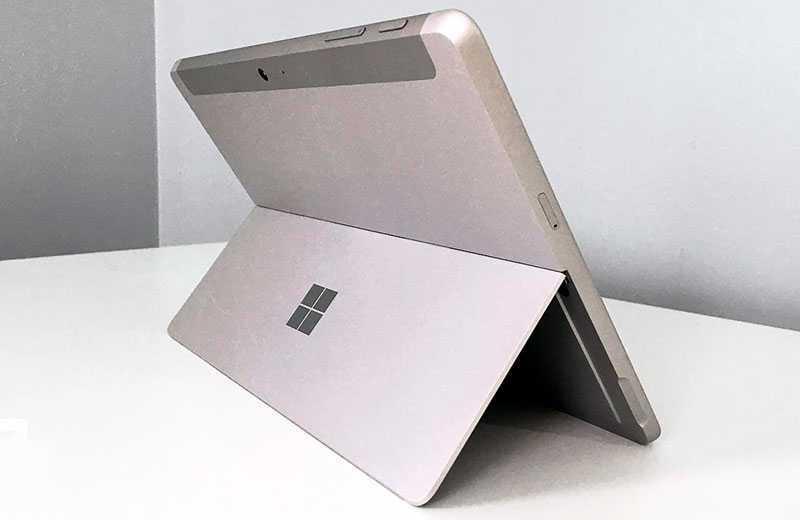 Microsoft Surface Go 2 дизайн