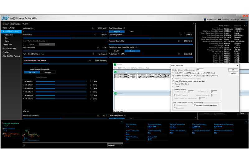 Как проверить стабильность разогнанного процессора?