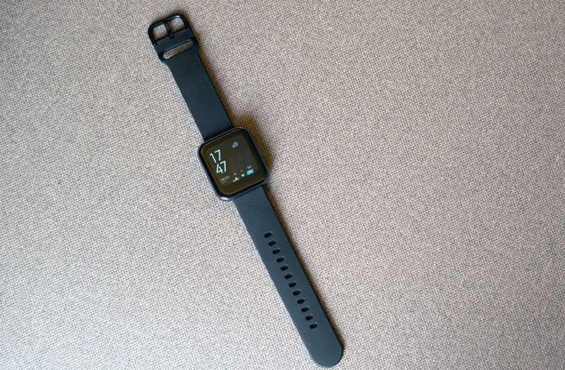 Realme Watch управление