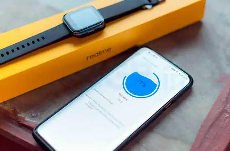 Realme Watch отслеживание активности